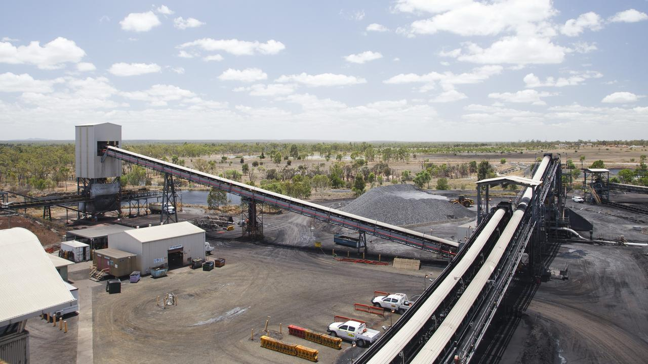 The Grosvenor mine conveyor. Picture: Anglo American