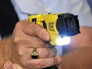 COVID check turns ugly with foot chase, quadruple taser