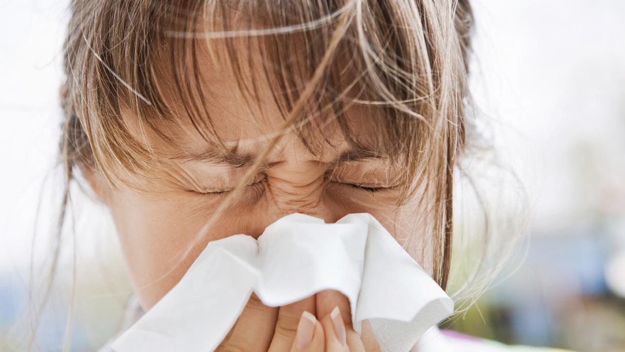Sneezing and have a watery nose? South Australian dust could be to blame. Picture: iStock