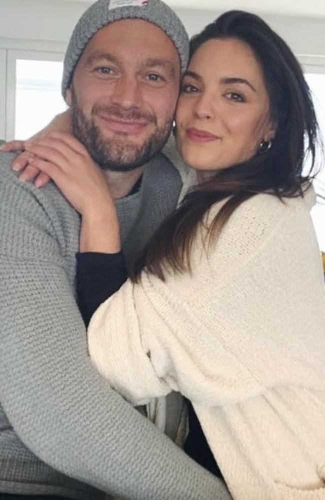 The actor and businesswoman thanked her partner for his support. Picture: Instagram