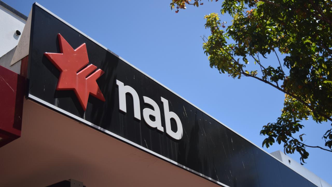 NAB has reduced the opening hours at its regional branches across Queensland.