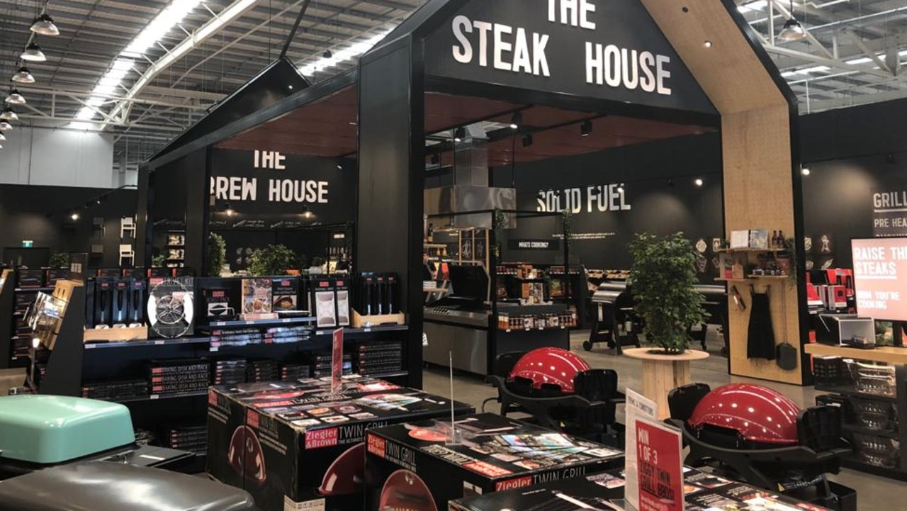 "A leading barbecue retailer has launched an Explore concept store complete ""The Steakhouse"" where employees can cook a meal for customers."