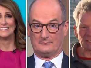 Sunrise hosts' priceless Newman reaction