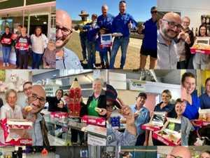 'I DONUT BELIEVE IT' Martoo's doughnut giveaways to finish