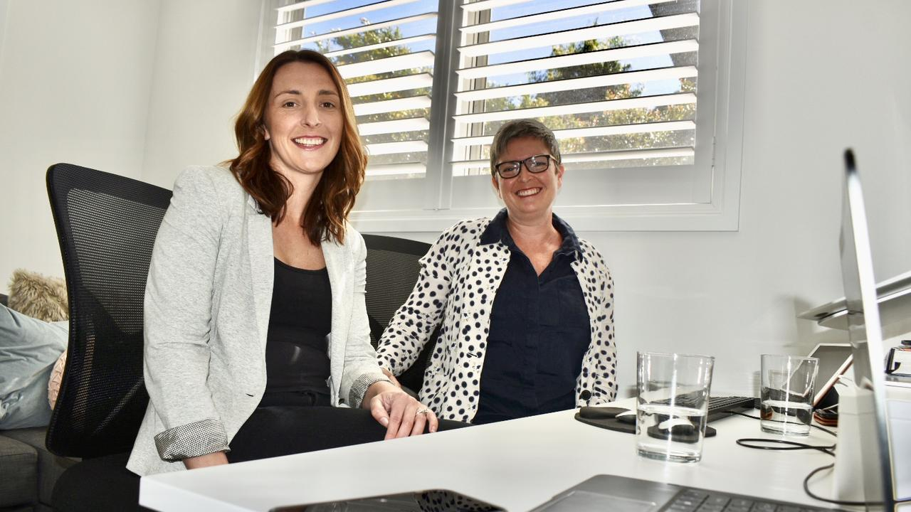 Thriving Culture's Claire Gray with new employee Nicola Garnsey.