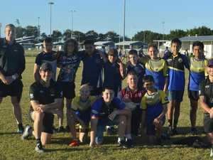 Former Broncos in town to develop next NRL stars