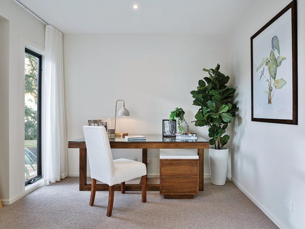 Many home buyers now want a dedicated working space. Picture: Porter Davis Homes