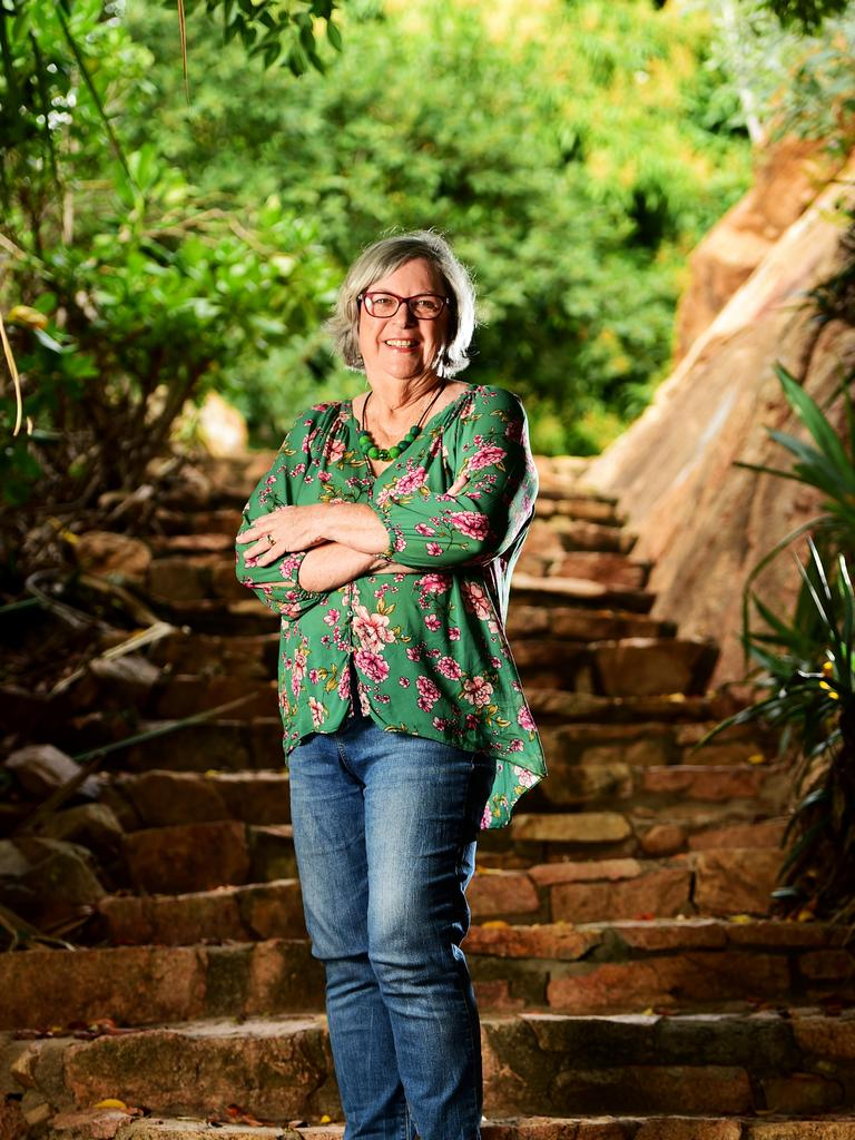 Townsville bestselling Author Barbara Hannay, has just completed her 57th book. The story is set on Magnetic Island. Picture: Alix Sweeney