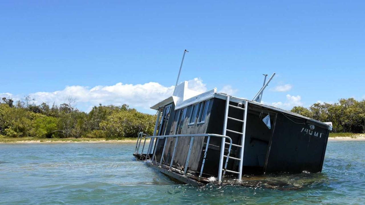 Going under in Noosa is not all that uncommon for some vessels.