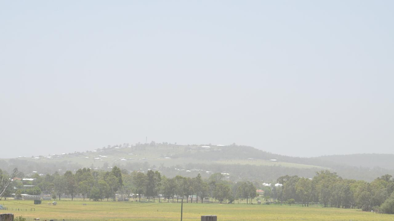 WINTER HAZE: Dust clouds could be on the way for the region this weekend. Picture: contributed