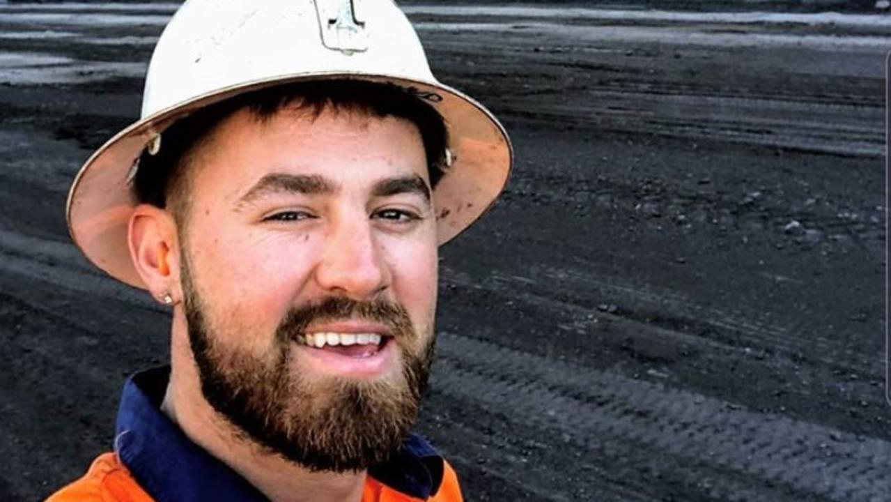 Mackay miner James Quartermaine has started a new mental health campaign called Mineset. Picture: Supplied
