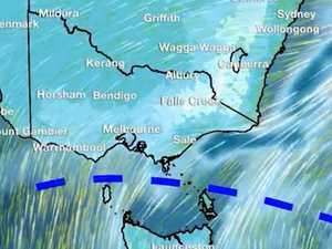Antarctic air mass to blast Australia