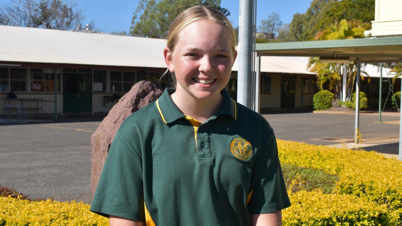 Burnett State School student Zoe Hoskinson. Picture: Sam Turner