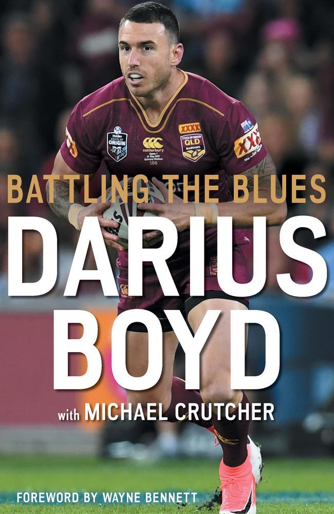 Darius Boyd's new book, Battling the Blues.