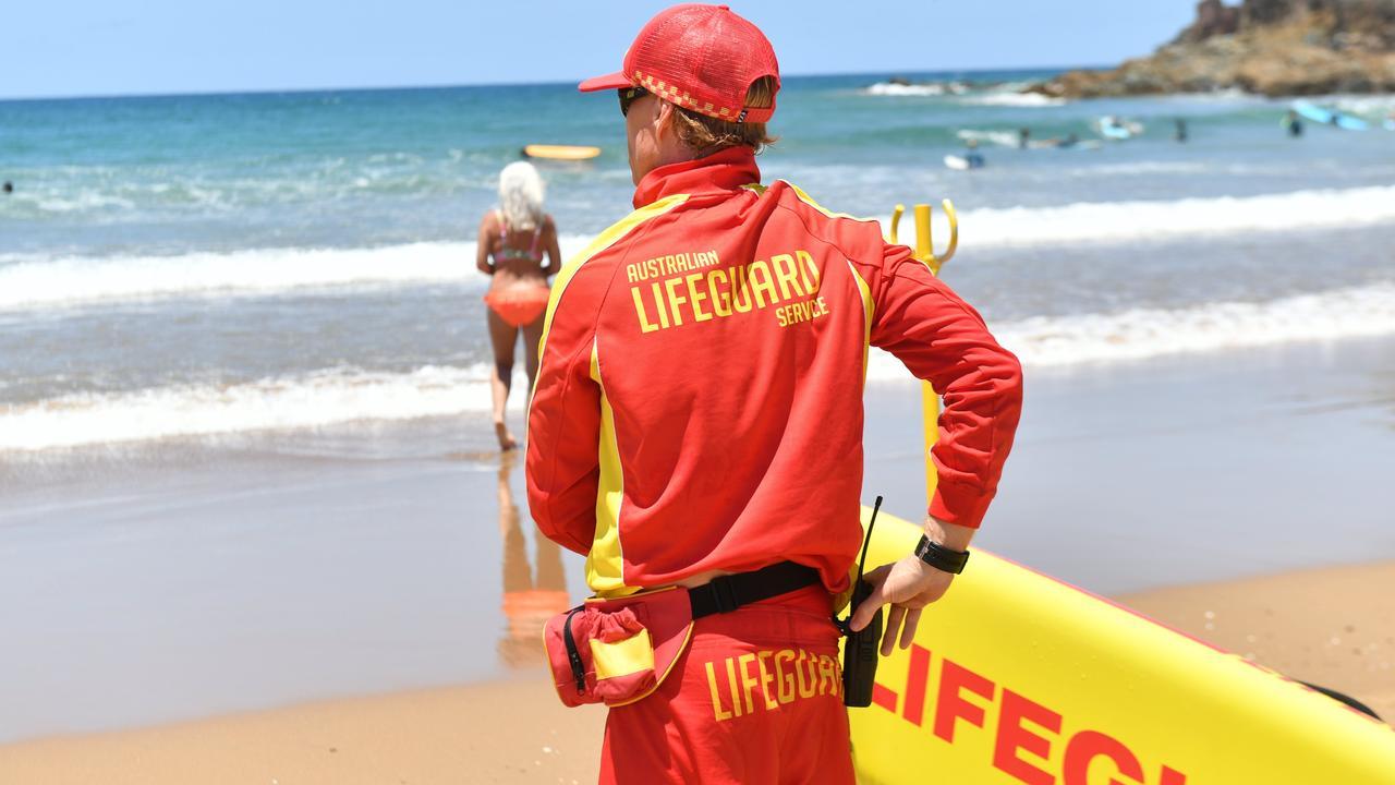 WEEKEND BEACH PATROLS: A lifeguard at Agnes Water Main Beach. Photo: Liana Walker.