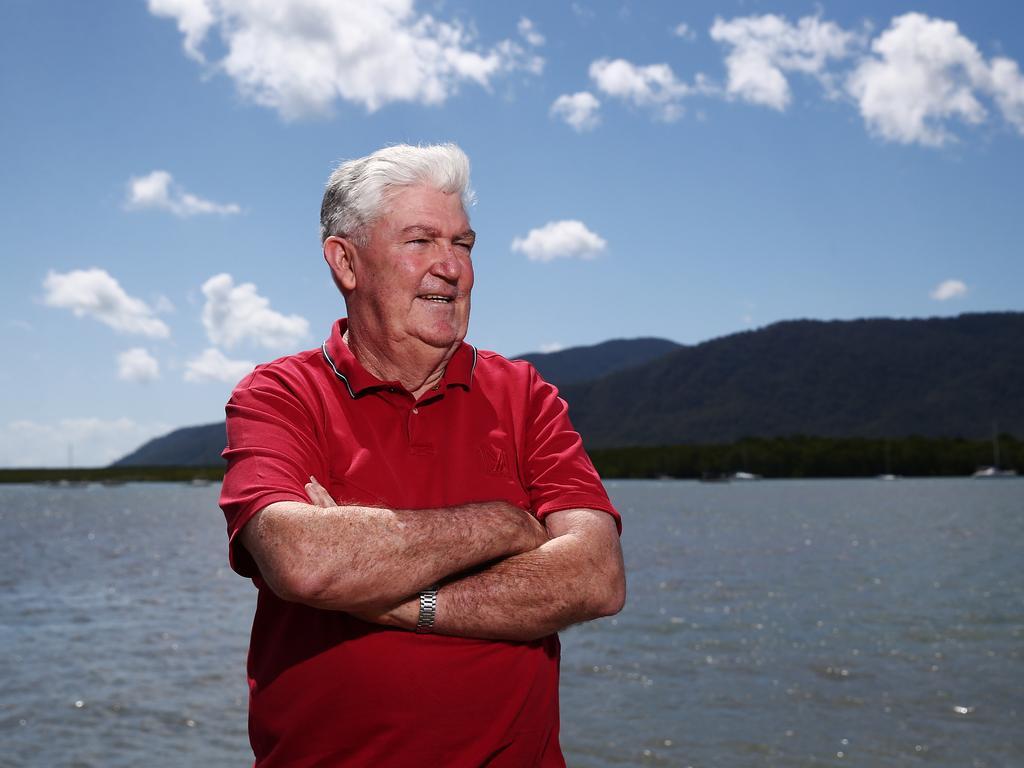 Kevin Byrne, president of the Cairns Tourism Industry Association. Picture: Brendan Radke