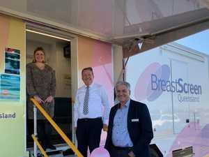 New BreastScreen van hits road to service growing region