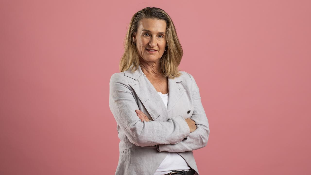 Karryn Wheelans is one of the many Karens in Queensland fighting back. Picture: Mark Cranitch.