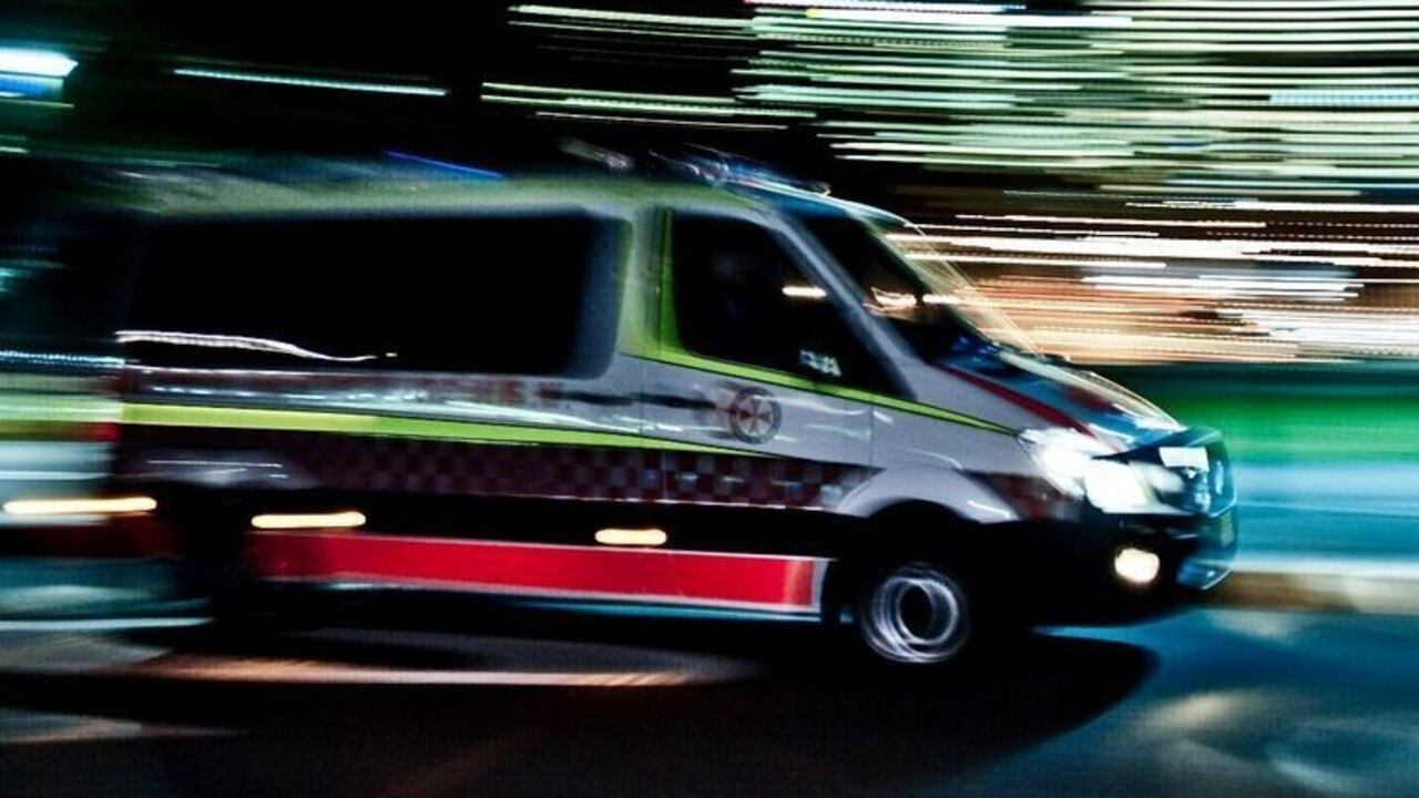 A teenager is fighting for his life after the ute he was driving rolled near Toowoomba.