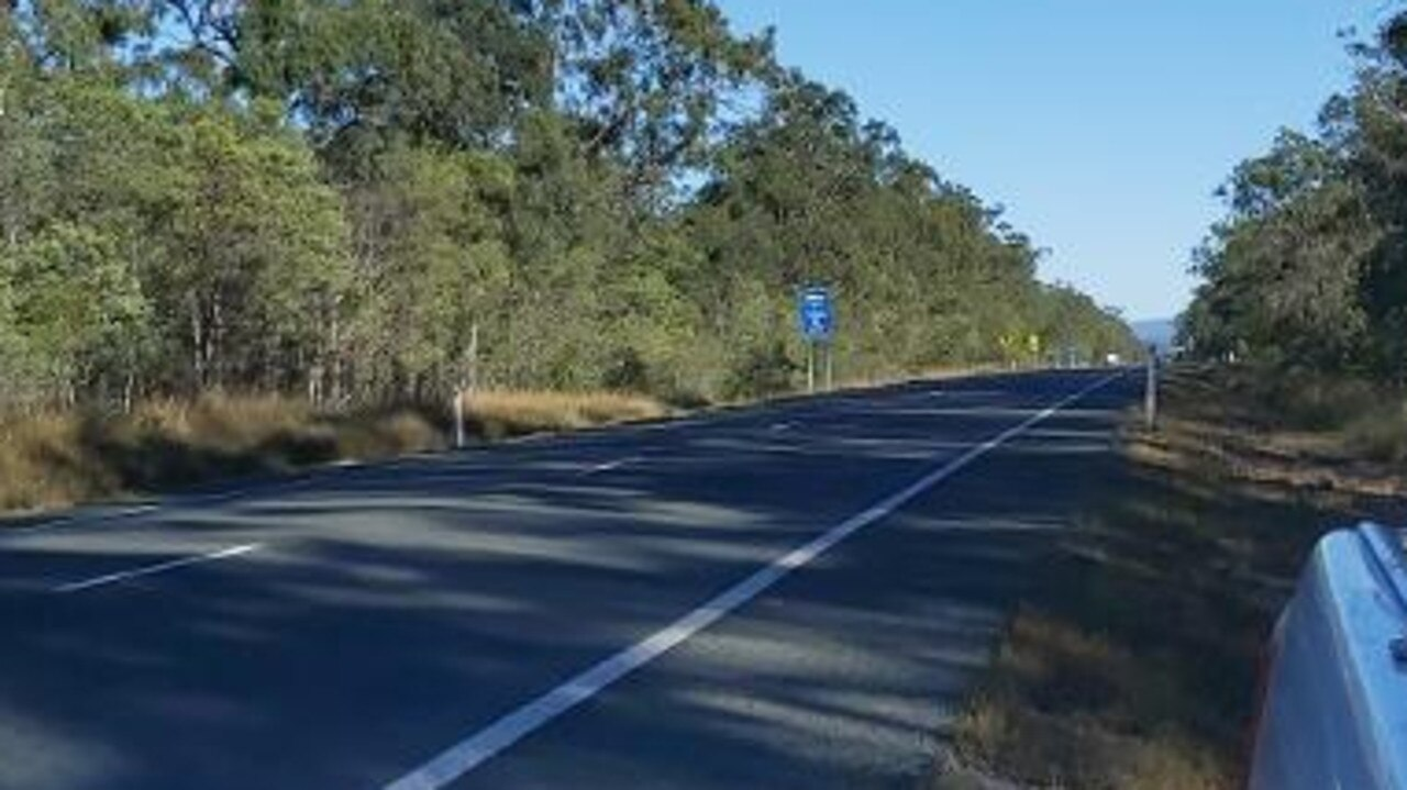 Ms Mackay-Payne said she believed this stretch of road near Marlborough was an area koalas cross frequently.