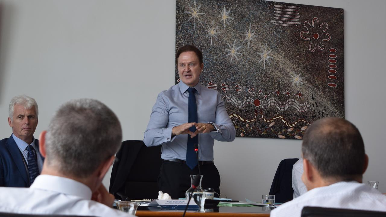 Ex-Sunshine Coast Council CEO Michael Whittaker.