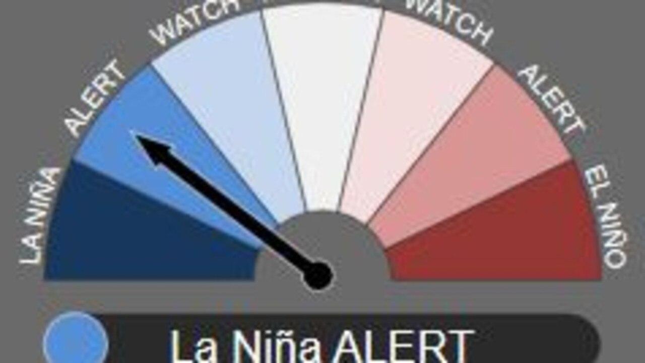 BUREAU: The ENSO Outlook has moved to La Nina 'alert' from La Nina 'watch'.