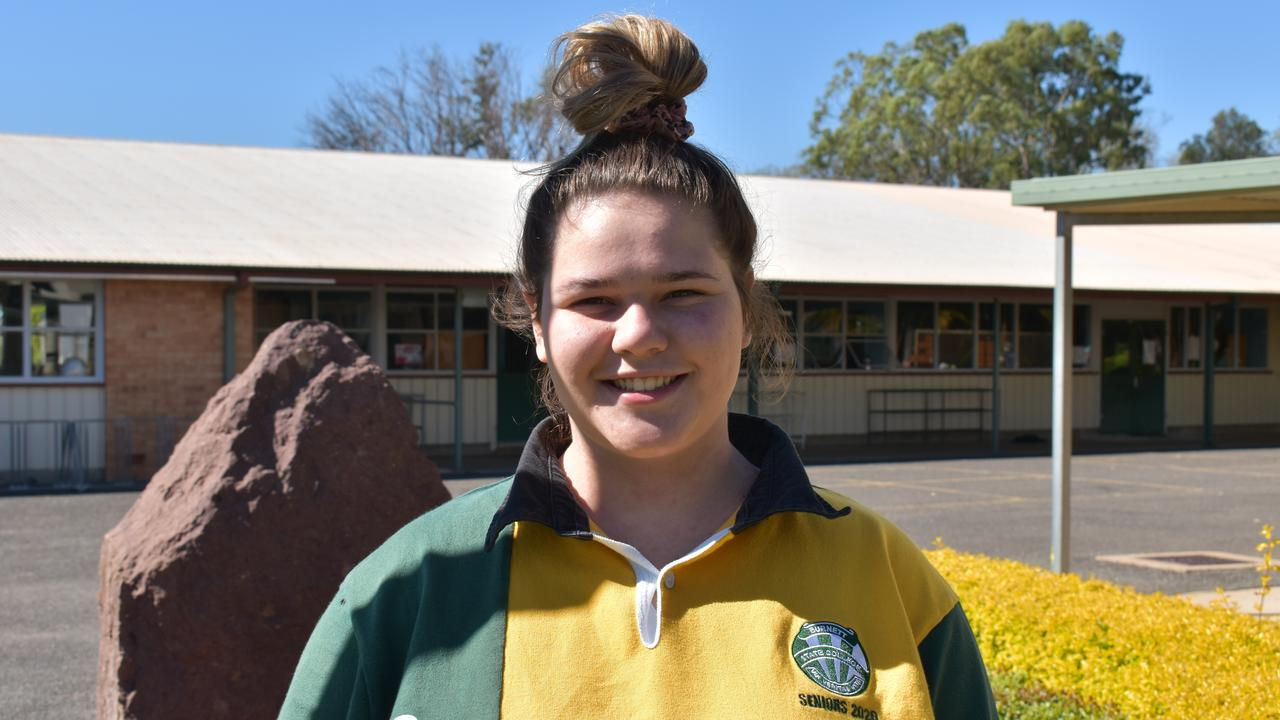 Burnett State College student Sophie Shadford. Picture: Sam Turner