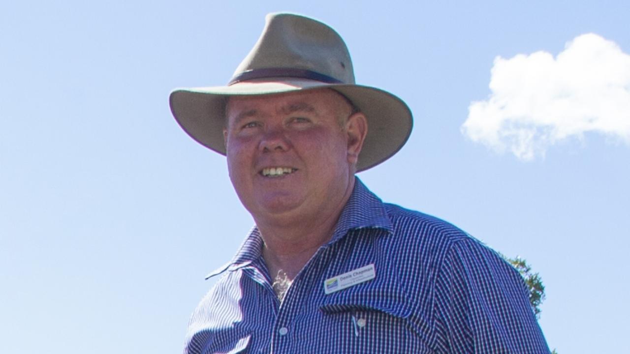 Councillor Denis Chapman.