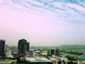 Dust haze blankets city as wind gusts hit over 80km/h