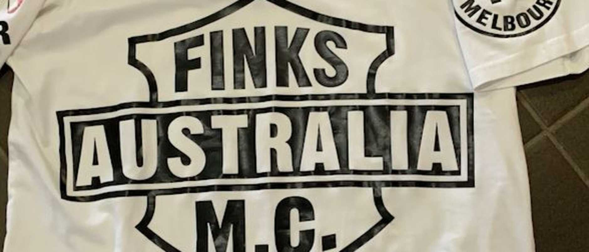 A former Finks bikie has been accused of drugging and raping his a woman 19 times and taping her breasts with electrical tape so they ruptured.