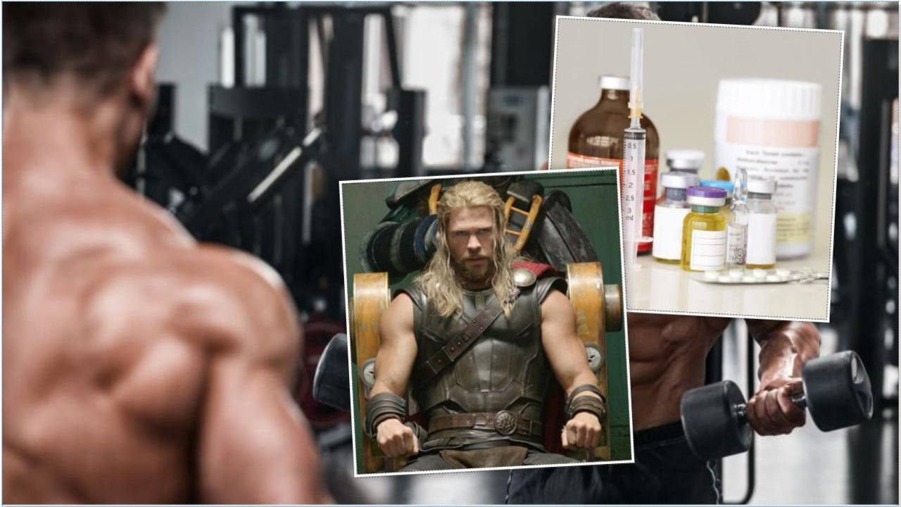 Teenage boys as young as 14 are using body building supplements and steroids, with many looking up to beefy rappers and action heroes like Thor.