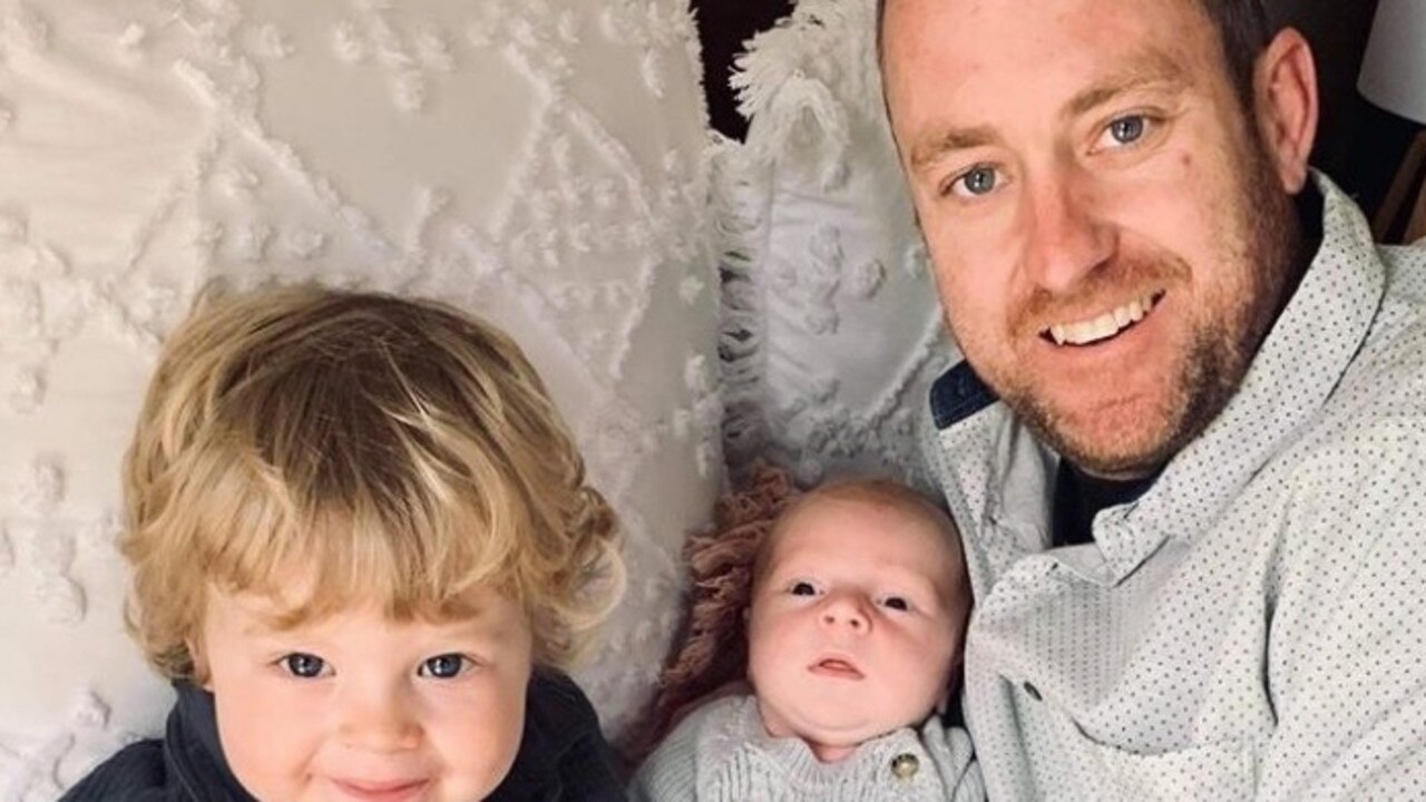 Jarrod Fox welcomed the youngest of his two sons just five weeks ago, but this week he was tragically killed while providing for his young family.