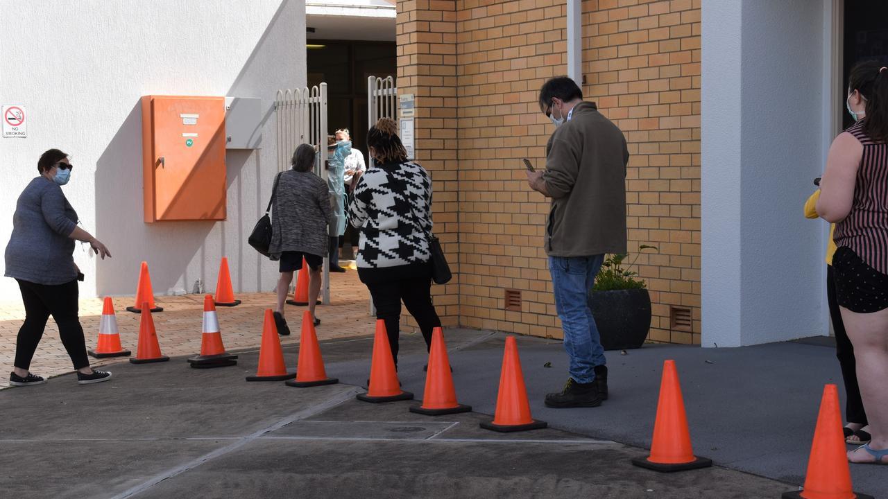 A coronavirus testing clinic has opened in the Salvation Army Church Hall, Coal Street, Bundamba from 9am-4.30pm, on Saturday and Sunday.