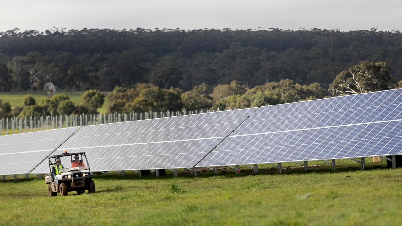 A solar farm at Rodds Bay is part of the Queensland Government's $145m renewable energy corridors announcement. The plan revolves around powering Gladstone heavy industry with renewable energy.