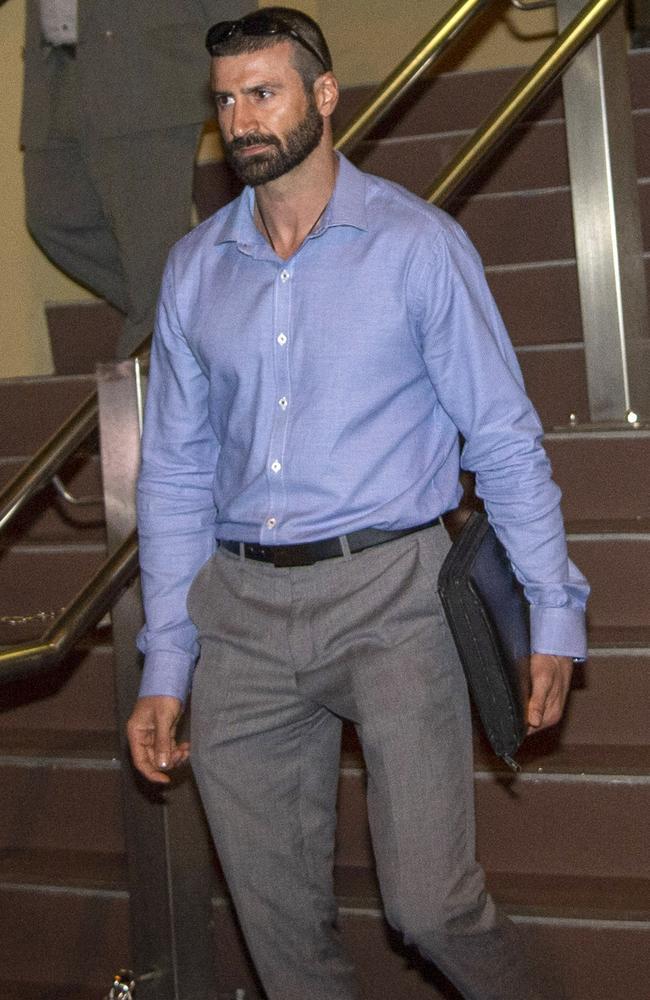 Ex-boyfriend John Peros has been identified as Shandee Blackburn's likely killer.