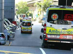 Paramedics on scene of three-vehicle crash