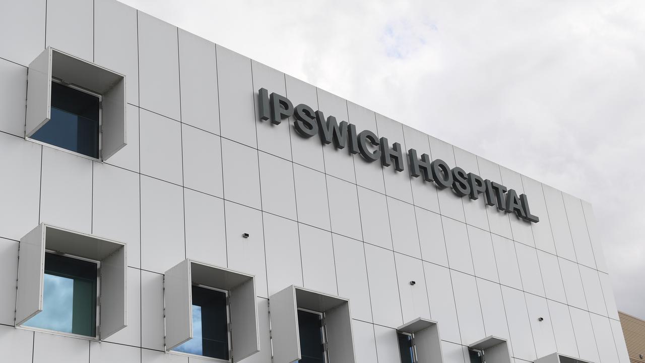 Generic shot of Ipswich Hospital East Street entrance.
