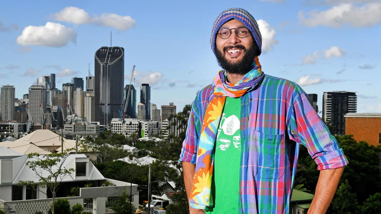 Jonathan Sri is the Greens' most high-profile politician in Brisbane. Picture: AAP image/ John Gass