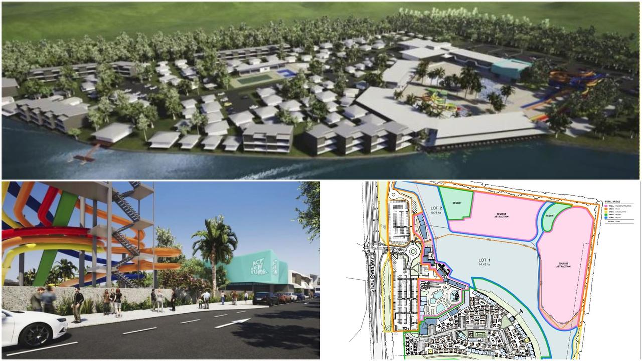 Developer Sanad Capital has applied for a minor change to their development approval for the Actventure water park and Invigorate resort in Glenview on the Sunshine Coast.