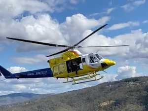 BREAKING: Person airlifted to hospital after hiking accident