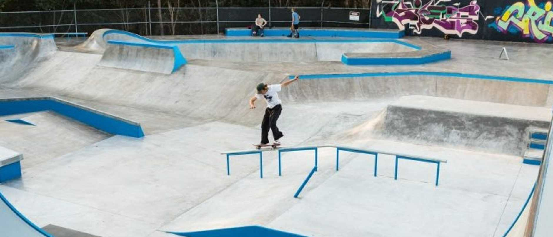 Sunshine Beach skate park is to be upgraded with a shade canopy.