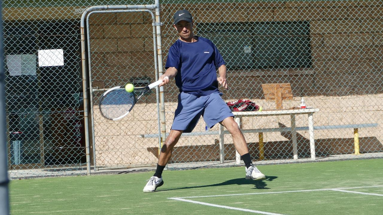 Ash Seeto took out the Lower Clarence Tennis Association's men's Open Singles