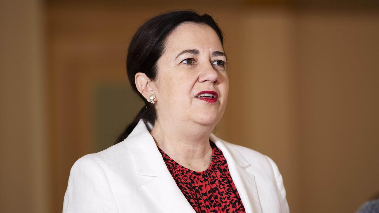 It's looking unlikely Annastacia Palaszczuk will be able to form a majority government after the next election. Picture: News Corp/Attila Csaszar