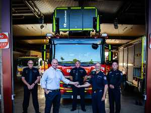 New $1.8m fire truck for Gladstone station