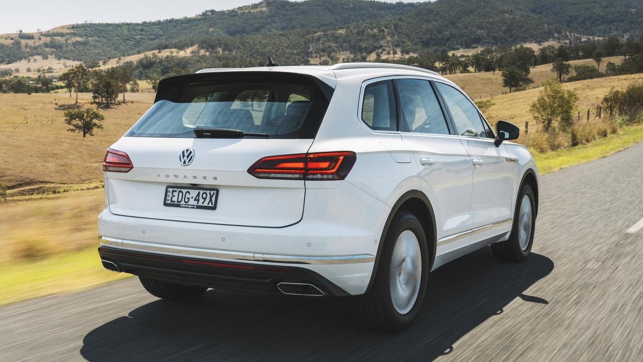 The big SUV is built on the same platform as the Bentley Bentayga and Porsche Cayenne.