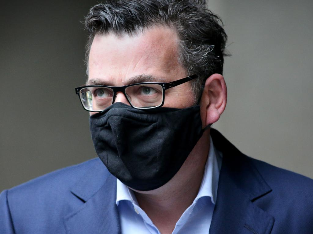 Victorian Premier Daniel Andrews plans to extend Victoria's state of emergency. Picture: NCA NewsWire/David Geraghty