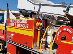 Fire crews on scene of vegetation fire