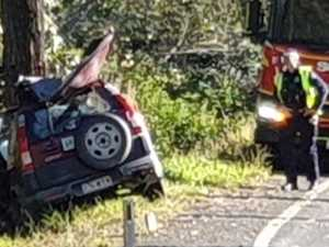 P-plater airlifted in serious condition after Gympie crash
