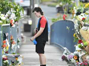 Floral tributes left for Aysha Baty