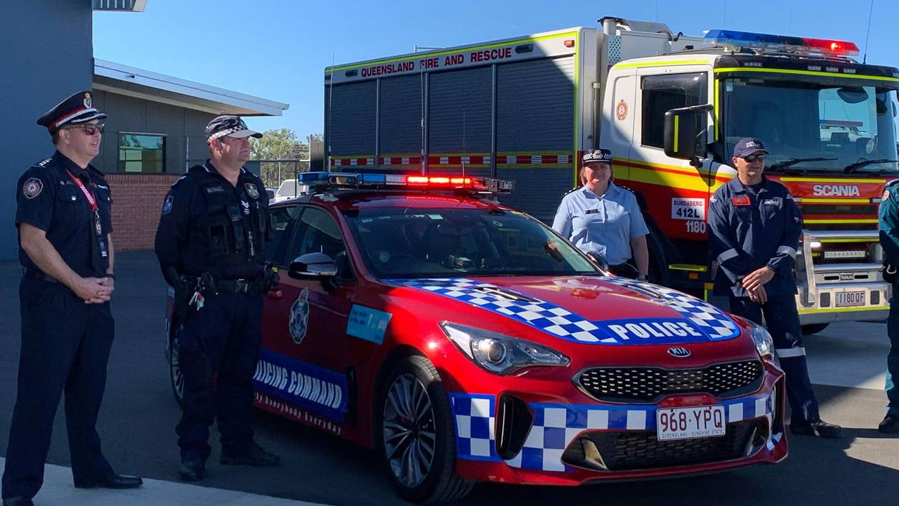 EMERGENCY CREWS ASSEMBLE: RACQ LifeFlight Rescue and emergency services will join forces to launch Queensland Road Safety Week.